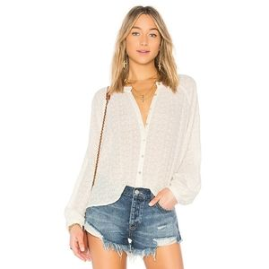 NEW Free People Down From The Clouds Top sz M